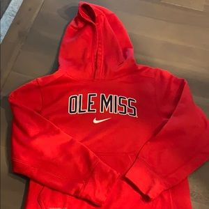 Youth Under Armour Ole Miss hoodie